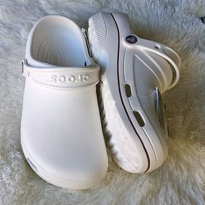 NWT CROCS at Work White Specialist Clogs Sz 8